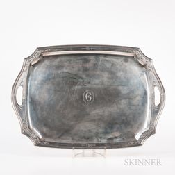Tiffany Sterling Silver Serving Platter